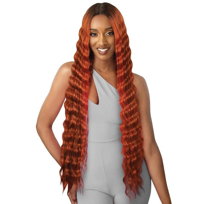 ANABEL | Synthetic HD Lace Front Wig - Hair to Beauty | Color Shown : DRFF2/CINNAMON SPICE