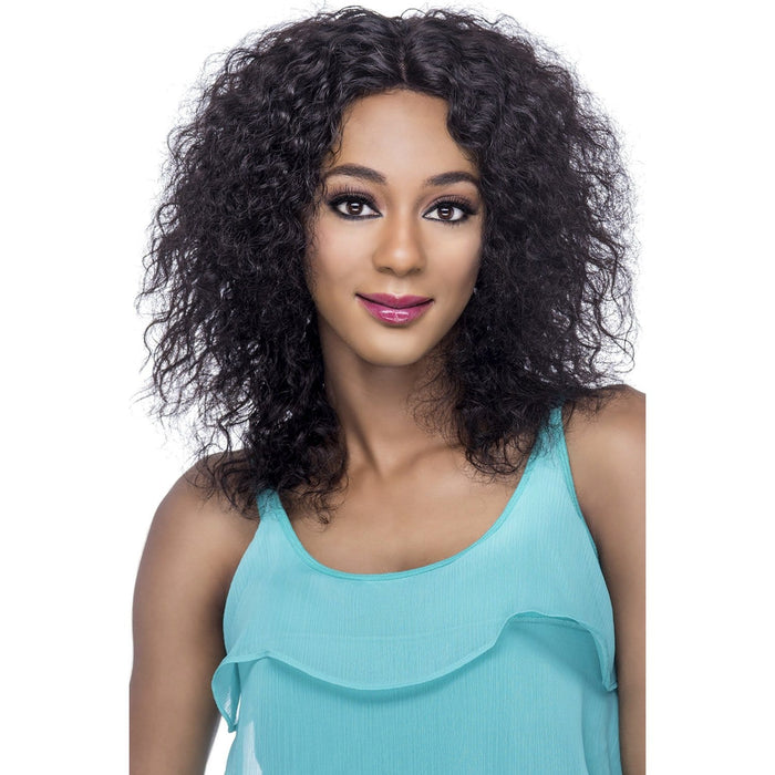 ANGIE | Vivica A. Fox Brazilian Remi Deep Full Swiss Lace Front Wig - Hair to Beauty | Color Shown: NATURAL