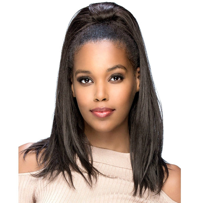 APB-TISH | Amore Mio Synthetic Drawstring Ponytail - Hair to Beauty | Color Shown: 4