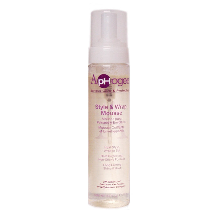 APHOGEE | STYLE & WRAP MOUSSE (8.5OZ) - Hair to Beauty