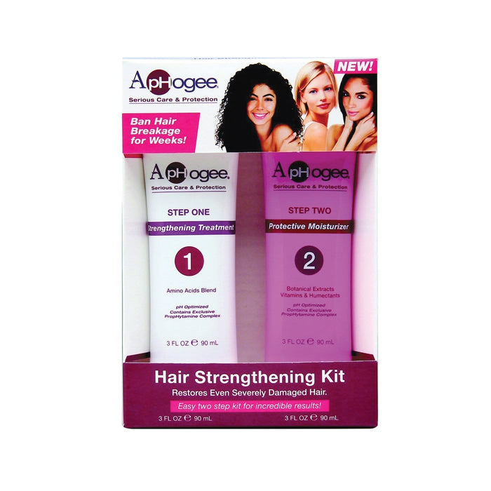 APHOGEE | 2-STEP STRENGTHENING KIT - Hair to Beauty