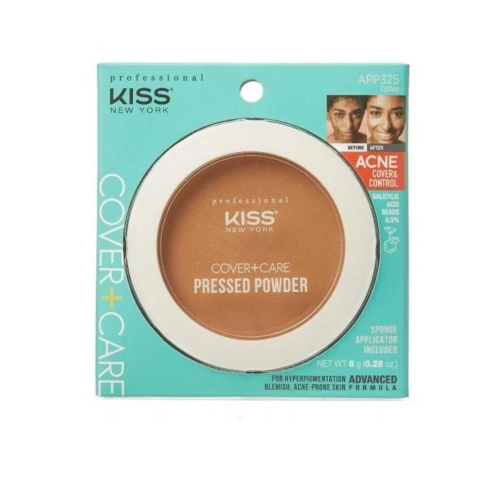 KISS NEW YORK PROFESSIONAL | Cover & Care Pressed Powder.