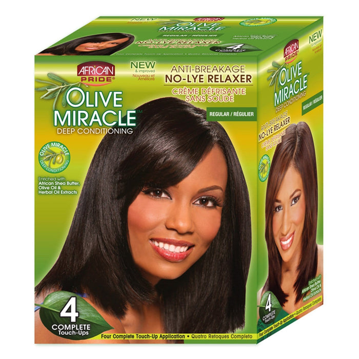 AFRICAN PRIDE | OLIVE MIR KIT REGULAR (4 TOUCH UP) - Hair to Beauty