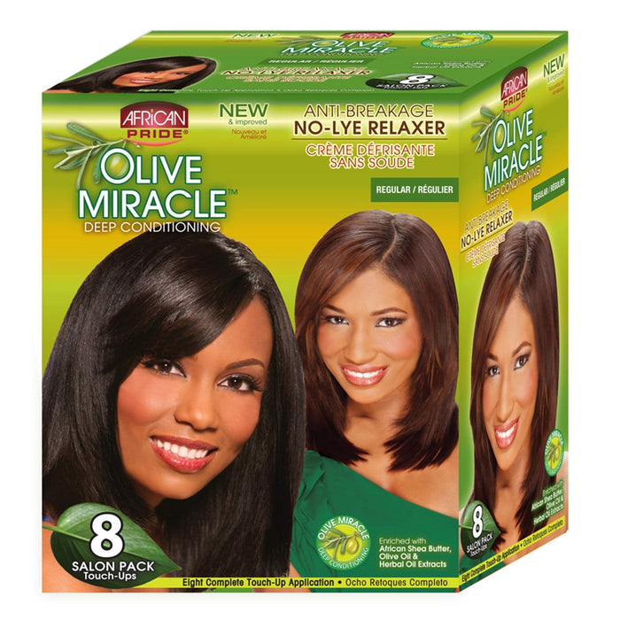 AFRICAN PRIDE | OLIVE MIR KIT REGULAR (8 TOUCH UP) - Hair to Beauty