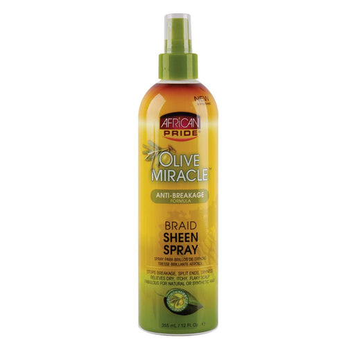 AFRICAN PRIDE | OLIVE MIR BRAID SHEEN SPRAY (12OZ) - Hair to Beauty