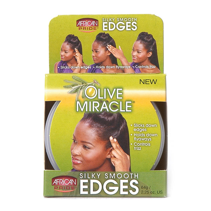 AFRICAN PRIDE | OLIVE MIR EDGES (2.5OZ) [SMOOTH] - Hair to Beauty