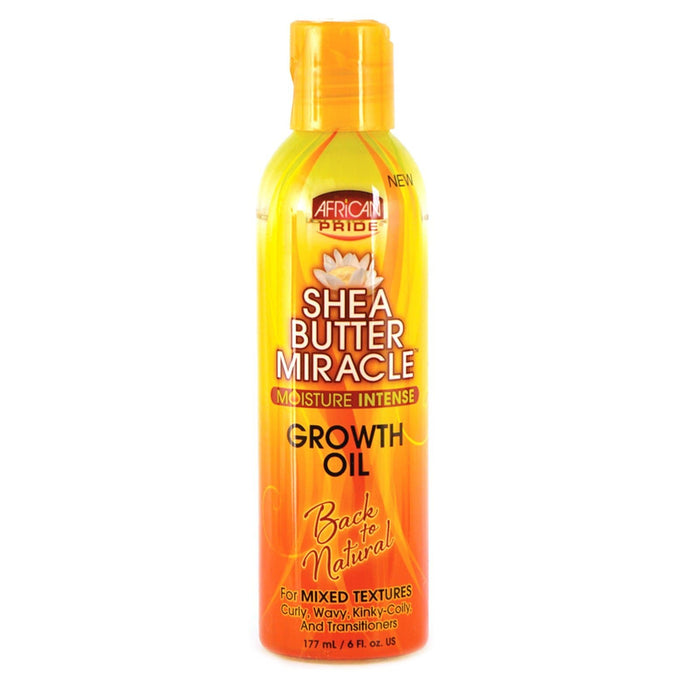AFRICAN PRIDE | SHEA BUTTER GROWTH OIL (8OZ) - Hair to Beauty