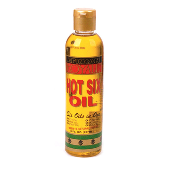AFRICAN ROYALE | HOT SIX OIL (8OZ) - Hair to Beauty