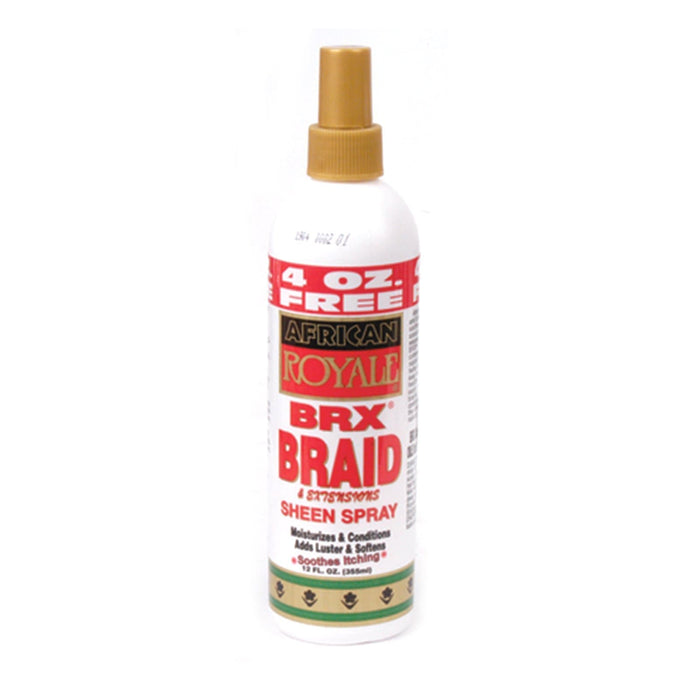 AFRICAN ROYALE | BRAID SHEEN SPRAY (12OZ) [BRX] - Hair to Beauty