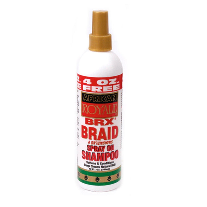 AFRICAN ROYALE | SPRAY-ON SHAMPOO (12OZ) [BRX BRAID] - Hair to Beauty