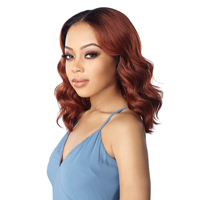AUDRY | Sensationnel Synthetic Lace Front Wig - Hair to Beauty | Color Shown : T2/COPPER