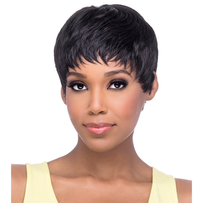 AW-CARRIE | Amore Mio Everyday Collection Synthetic Wig - Hair to Beauty | Color Shown: 2