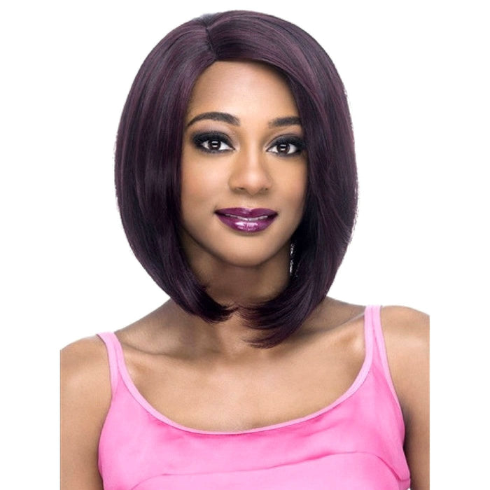 AW-DEANNA | Amore Mio Everyday Collection Premium Synthetic Wig - Hair to Beauty | Color Shown: 99J