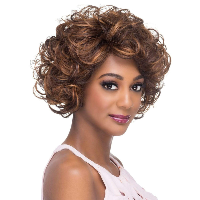 AW-LEAH | Amore Mio Everyday Collection Premium Synthetic Wig - Hair to Beauty | Color Shown: P4/27/30