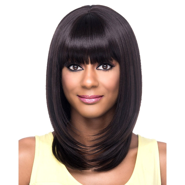 AW-ONIKA | Amore Mio Everyday Collection Premium Synthetic Wig - Hair to Beauty | Color Shown: 4