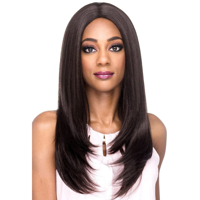 AW-SPARKLE | Amore Mio Everyday Collection Premium Synthetic Wig - Hair to Beauty | Color Shown: 4