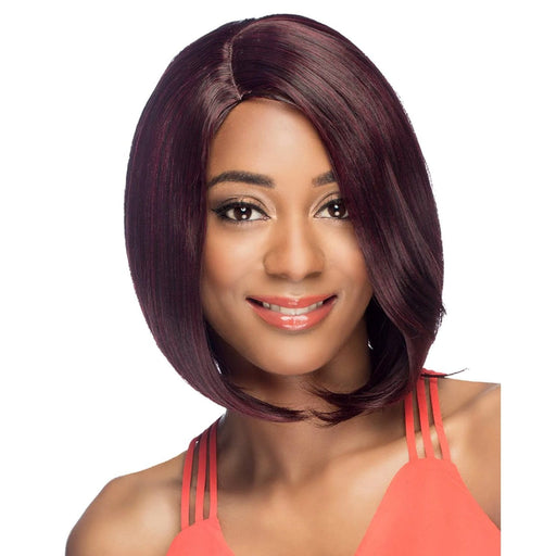 AW-UTAH | Amore Mio Everyday Collection Premium Synthetic Wig - Hair to Beauty | Color Shown: 99J
