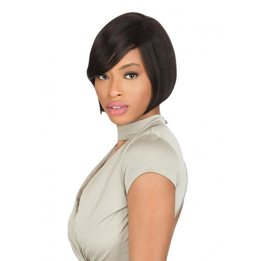 AW705 | Ali 7A Brazilian Human Hair Wig - Hair to Beauty | Color Shown: Natural Black
