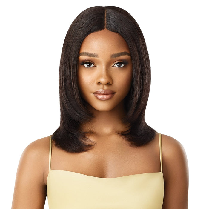 HH-AYANNA | Mytress Gold Label Human Hair Lace Front Wig  - Hair to Beauty | Color Shown : NATURAL
