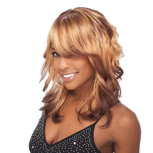 BALI GIRL l FreeTress Synthetic Band Fullcap Wig - Hair to Beauty l Color Shown:3T613