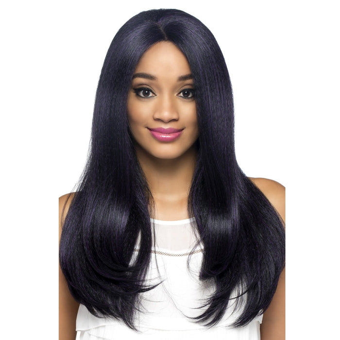 BALI | Vivica A. Fox Synthetic Invisible Part Deep Swiss Lace Front Wig - Hair to Beauty | Color Shown: M1DP