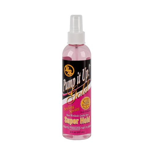 BRONNER BROS. | Spritz Gold Super Pump It Up 8oz - Hair to beauty