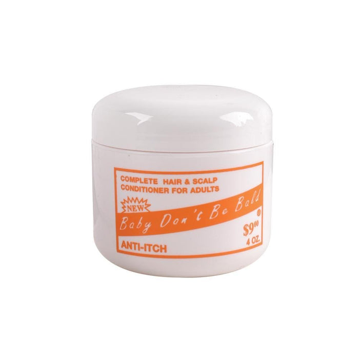 BABY DON'T BE BALD | Hair and Scalp Conditioner Anti-Itch Orange.