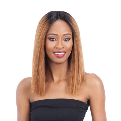 BELLONA | Human Hair Lace Front Wig - Hair to Beauty | Color Shown : OT30