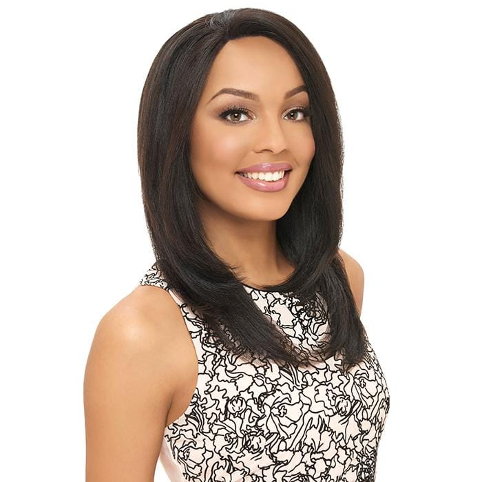 BL001 NATURAL LAYER | Harlem125 Brazilian Natural Remy Lace Front Wig - Hair to Beauty | Harlem125 Model Color: VIRGIN