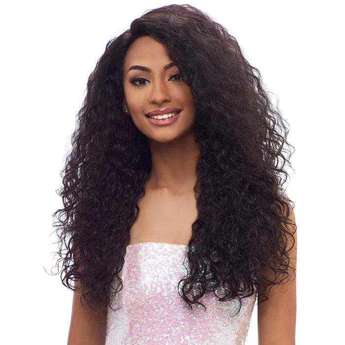 BL005 BRAZILIAN CURL | Harlem125 Brazilian Natural Remy Lace Front Wig - Hair to Beauty | Harlem125 Color Shown: VIRGIN