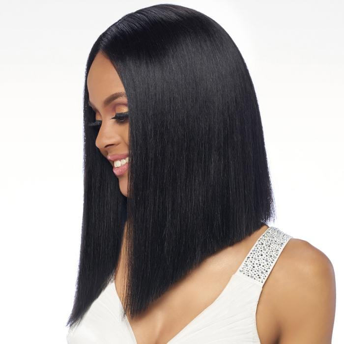BL006 BLUNT | Harlem125 Brazilian Natural Remy Lace Front Wig - Hair to Beauty | Harlem125 Color Shown : Natural Black