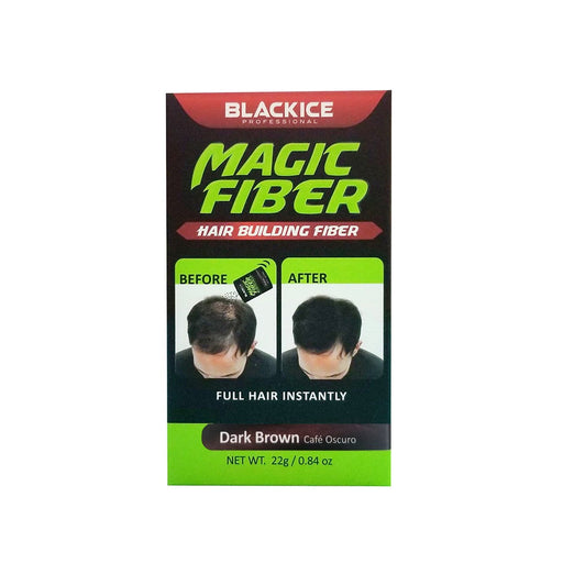 BLACK ICE | Magic Fiber Hair Building Fiber - Hair to Beauty