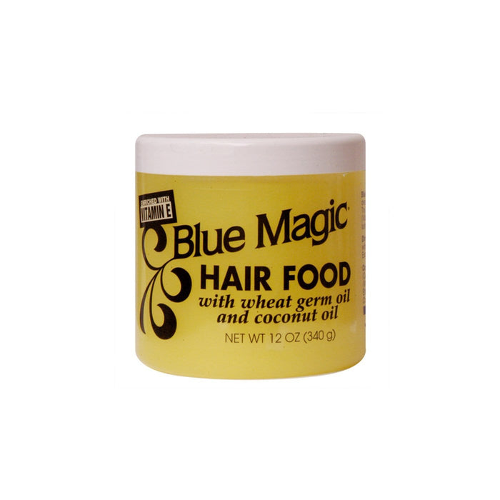 BLUE MAGIC | Hair Food With Wheat Germ Oil and Coconut Oil 12oz.
