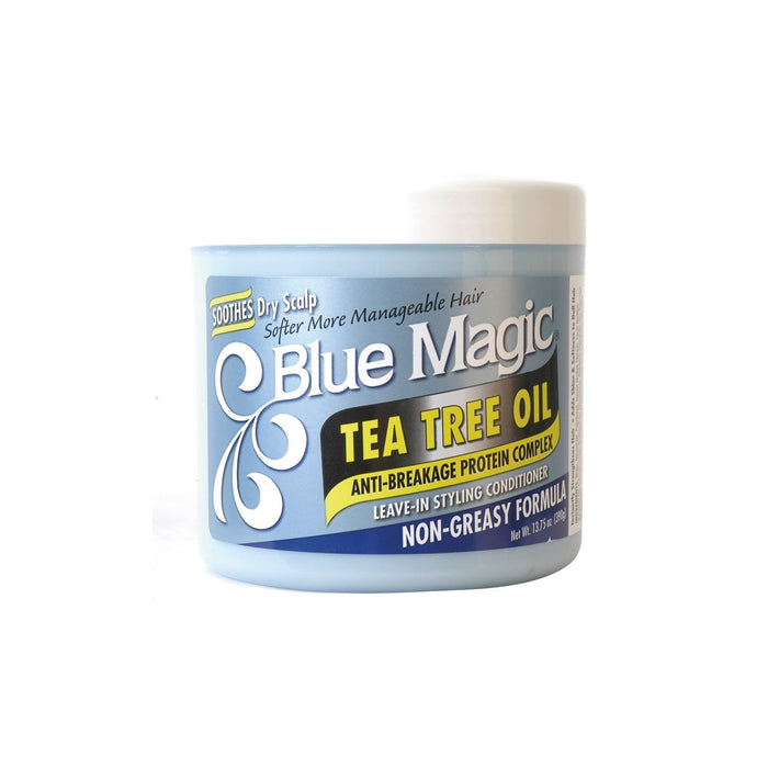 BLUE MAGIC | LEAVE-IN CONDITIONER TEA TREE OIL (13.75OZ) - Hair to Beauty