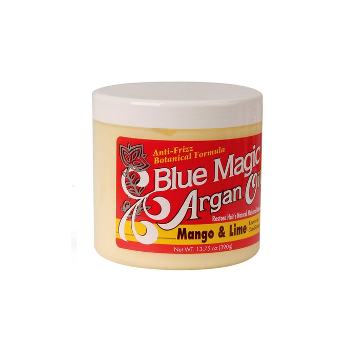 BLUE MAGIC | Leave-In Conditioner Argan Oil Mango & Lime 13.75oz.