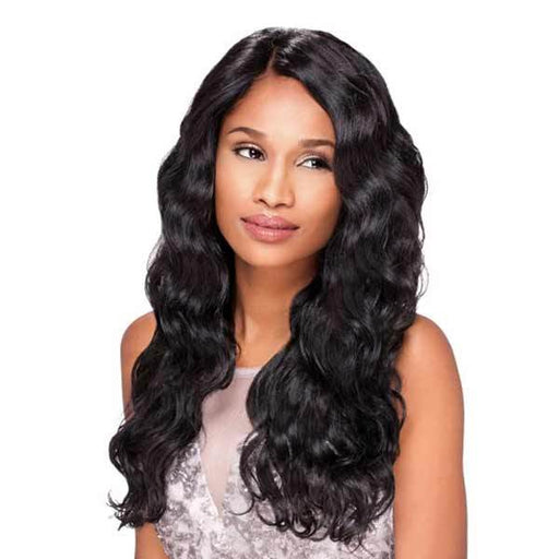 BODY WAVE | Sensationnel Empress Synthetic Custom Lace Front Edge Wig - Hair to Beauty | Color Shown: