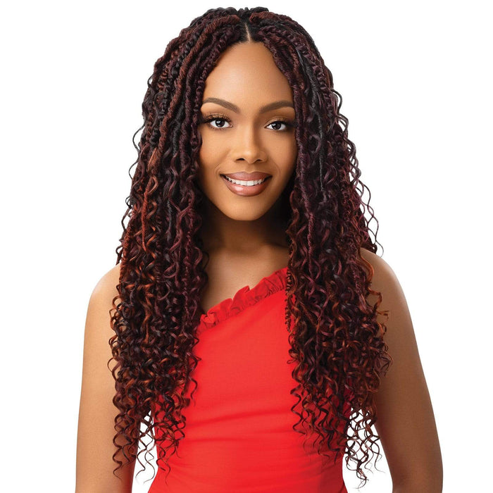 BOHO SPRING MERMAID LOCS 18″ 3X | Twisted Up Synthetic Braid.