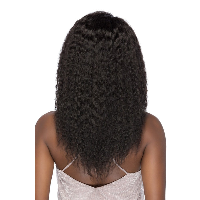BOLOGNA | VVIP Collection Brazilian Remi Full Swiss Wig - Hair to Beauty | Color Shown: NATURAL