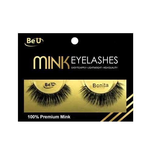 BE U | Mink Eyelashes BONITA - Hair to beauty