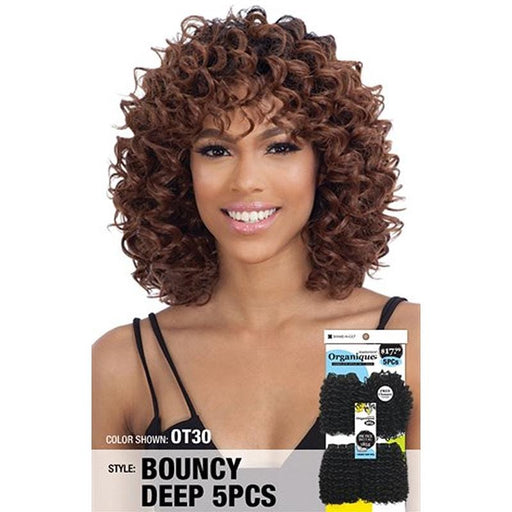 BOUNCY DEEP 5PCS | Freetress -Hair to Beauty | Color Shown : OT30