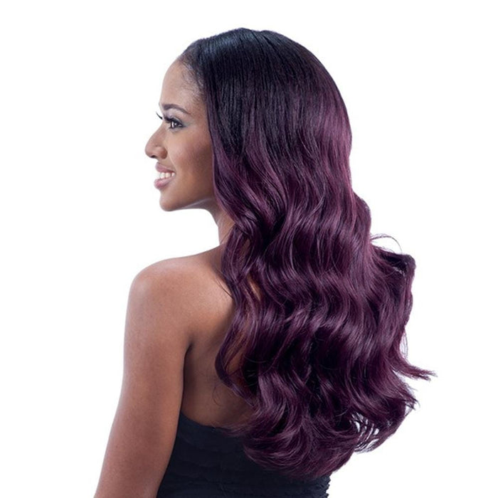BOUNCY WAVE | Synthetic Oval Part Wig - Hair to Beauty | Color Shown: OT99J