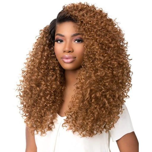 EMPRESS BOUTIQUE TWIST | Sensationnel Empress Boutique Bundles Synthetic 3-Way Free-Part Lace Front Edge Wig - Hair to Beauty | Color Shown: