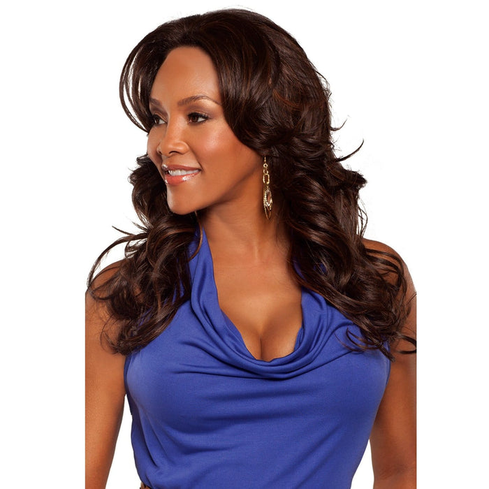BRIGHT | Vivica A. Fox Synthetic Lace Front Wig - Hair to Beauty | Color Shown: FS4/30