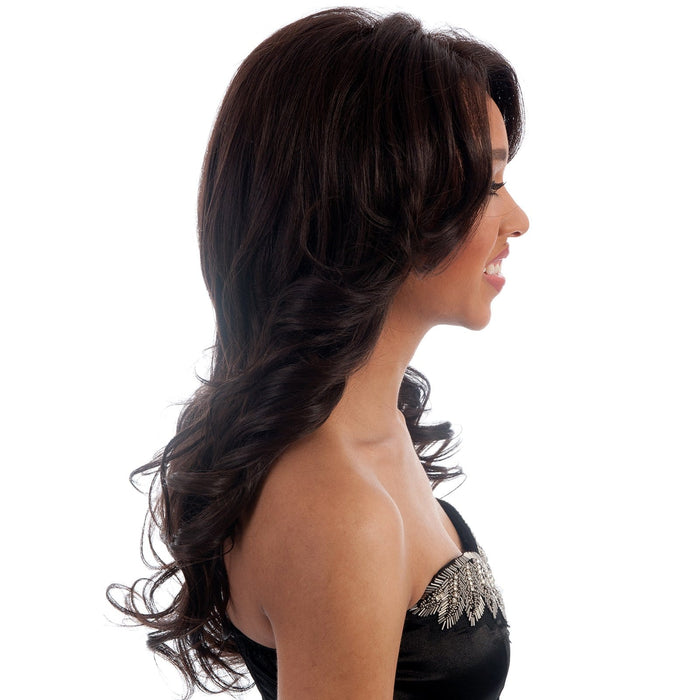 BRIGHT | Vivica A. Fox Synthetic Lace Front Wig - Hair to Beauty | Color Shown: 4