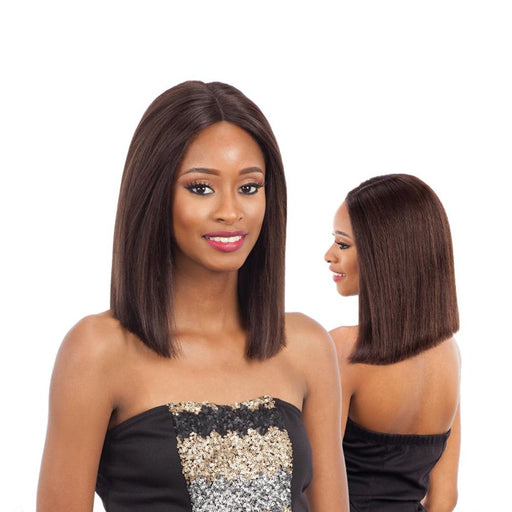 BRIGIT | Human Hair Lace Front Wig - Hair to Beauty | Color Shown : NATURAL