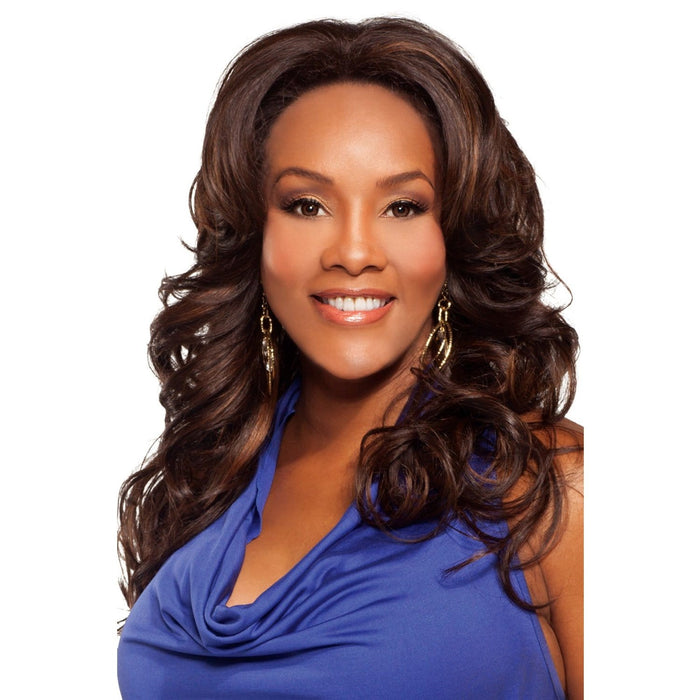 BRITNEY | Vivica A. Fox Synthetic Lace Front Wig - Hair to Beauty | Color Shown: FS4/30