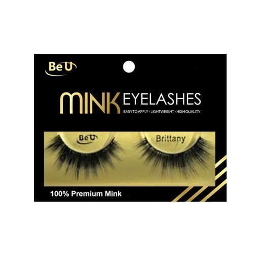 BE U | Mink Eyelashes BRITTANY - Hair to beauty