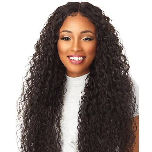 BROOKLYN | Sensationnel Empress 3-Way Free-Part Synthetic Lace Front Edge Wig - Hair to Beauty | Color Shown: