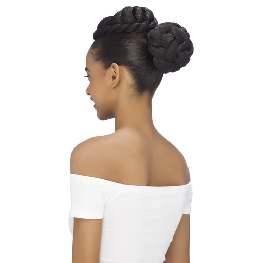 BTB-ALBANY | Synthetic Bun - Hair to Beauty | Color Shown : 1B