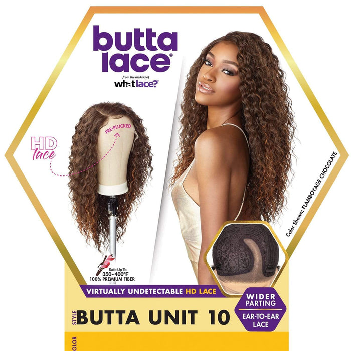 BUTTA UNIT 10 | Butta Synthetic Lace Front Wig.